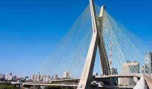 The Octavio Frias de Oliveira bridge