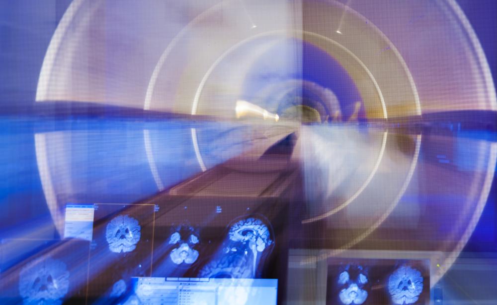 abstract image of MRI